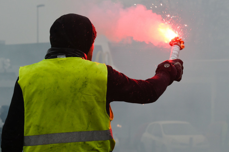 Yellow Vests protestrors demonstrate in France last weekend