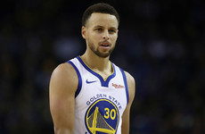 Steph Curry outscored the Atlanta Hawks in the first quarter during Warriors victory