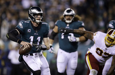 Wentz gets Super Bowl champions Philadelphia  Eagles soaring again