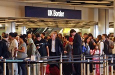 British border control workers plan 24-hour strike