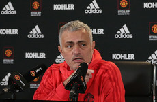 'I don't want to update you': Mourinho refuses to provide team news to MUTV
