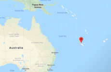 Tsunami warning as magnitude 7.5 earthquake strikes off New Caledonia