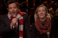 Jimmy Fallon's rendition of Fairytale of New York with Saoirse Ronan wasn't half bad