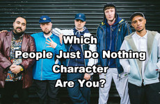 Which People Just Do Nothing Character Are You?