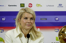 'Obviously, I was expecting maybe a question about my football skills' - Hegerberg