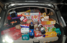 Members of the Travelling Community in Coolock have been buying trolleys of food to help the homeless this Christmas