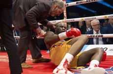 Former champion Stevenson 'stable under the circumstances, but critical' after brutal stoppage loss