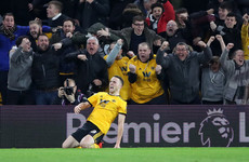 Assist for Ireland international Doherty, as Wolves stun Chelsea