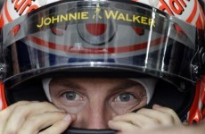 Jenson Button escapes injury after group attacks car
