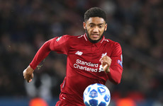 Liverpool defender Gomez suffers fractured leg