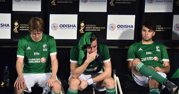 Ireland's World Cup dream fails to take off as Cox's men bow out after England defeat
