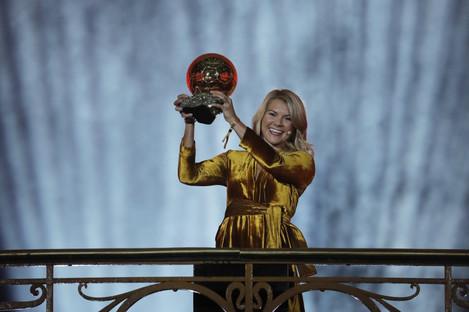 Ada Hegerberg first ever female winner of Ballon d'Or award