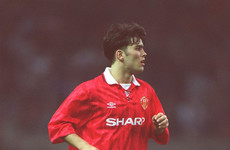 Sir Alex turned to Claire and said, 'Here's the lad who would have played for England'
