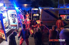 One woman and five children killed in stampede at Italian nightclub