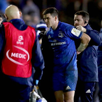 Sexton's calf a concern as Leinster emerge from 'mixed' display with victory
