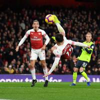 Torreira's late strike downs Huddersfield as Arsenal extend unbeaten run to 21 games