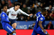 Son Heung-min stunner buoys Tottenham for Barcelona mission as Leicester fall flat