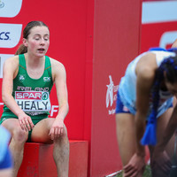 Fall ends rising star Healy's hopes of medal at European Cross Country