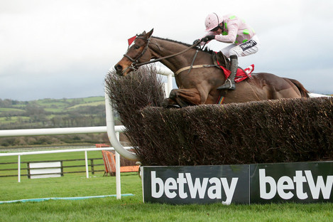 Ruby Walsh rides Min to victory this afternoon.