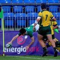Ireland U19 winger produces outrageous finish against Australia