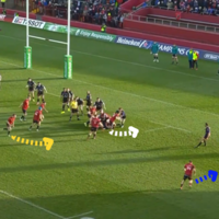 Analysis: Murray's arc-running influence vital in guiding Munster over the line