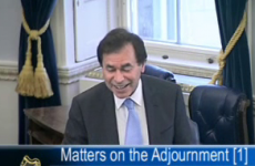 VIDEO: Alan Shatter has a laughing fit... in the Seanad