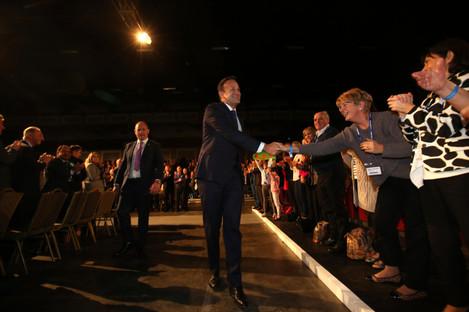 Leo Varadkar, the Taoiseach, promised five years of tax cuts, at the Fine Gael Ard Fheis 2018