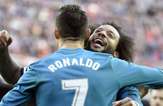 Ronaldo: Juventus don't need Bale or James but Marcelo would be welcome