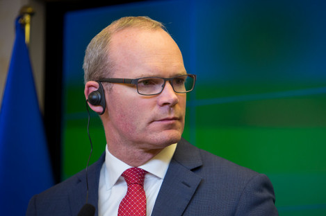 Minister for Foreign Affairs and Trade of Ireland Simon Coveney.