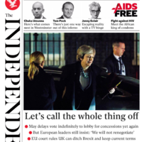 'Mayday Mayday': How the British media reacted to the cancelled Brexit vote