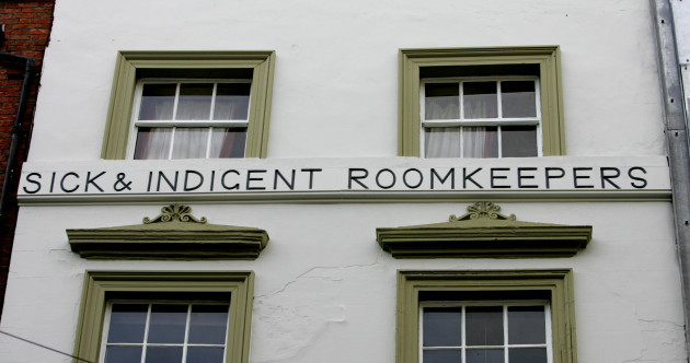 The Sick and Indigent Roomkeepers Society: Dublin's oldest charity and its plan to make it to 2040