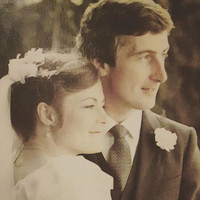 'I fancied him from the beginning': Our first Christmas as a married couple, 36 years ago