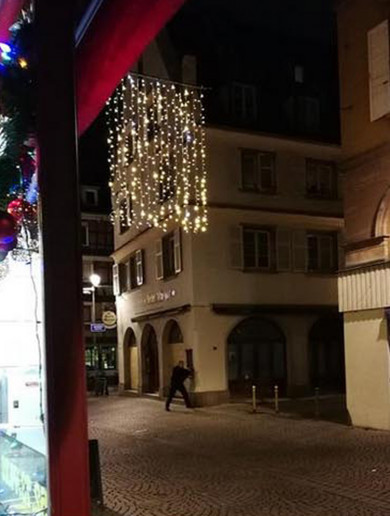 Strasbourg shooting: Two dead and 12 injured at Christmas market as suspect remains at large