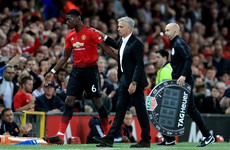 'I don't like your question': Mourinho shoots down query over how to get the best from Pogba