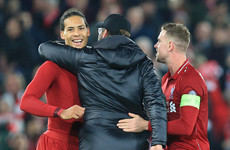 Van Dijk targets Champions League glory after Liverpool escape
