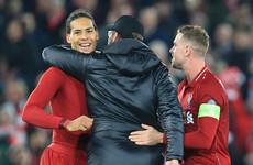 Van Dijk targets Champions League glory after Liverpool escape