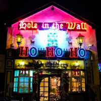 'It takes a month to put them up': The story of the Hole in the Wall's legendary Christmas decorations