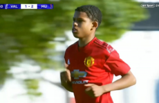 14-year-old United starlet becomes youngest-ever Uefa Youth League player