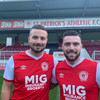 Double swoop as St Pat's complete deals for ex-Shamrock Rovers duo Miele and Drennan