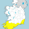 Wind and rain warnings issued for southern counties