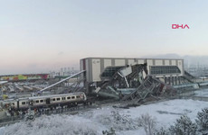 Seven killed and 46 injured in early-morning train crash in Turkey