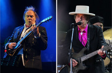 Bob Dylan and Neil Young to play together in Kilkenny next July