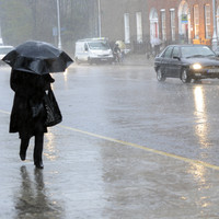 It's going to be a wet and windy weekend with 'horrible' conditions expected