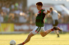 Mayo captain on comeback trail after undergoing surgery on his knee