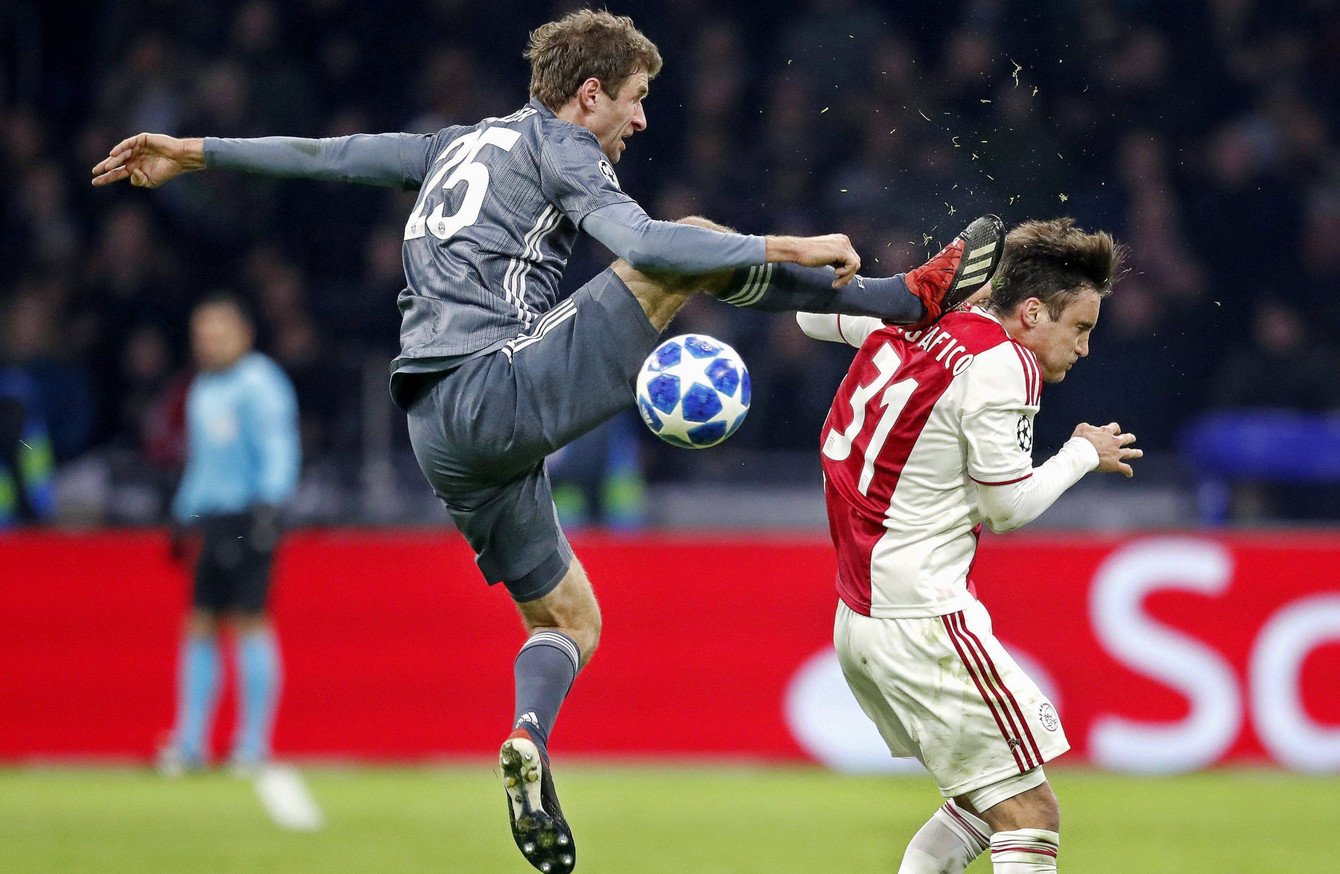 Of course I didn't mean to do it' - Müller apologises for kicking ...