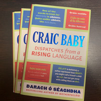 WIN: We have signed copies of Craic Baby by Darach � Séaghdha up for grabs