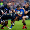 'We're used to Leinster choking teams out... they were on the back foot'