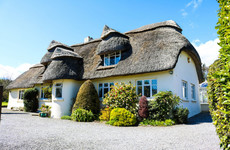 Live your own fairytale in this classic thatched cottage in Wicklow