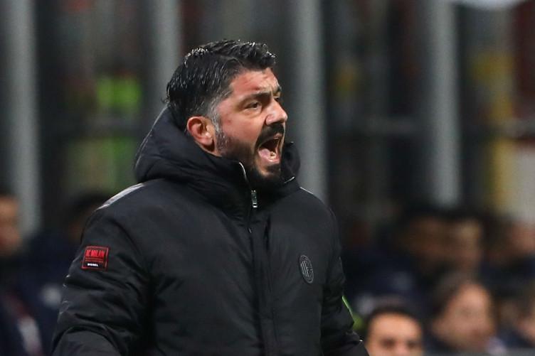 AC Milan boss Rino Gattuso.
