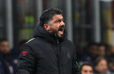 'We gifted the game' – AC Milan boss Gattuso 'furious' after Europa League exit